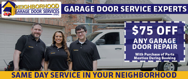 happy Neighborhood Garage Door customers